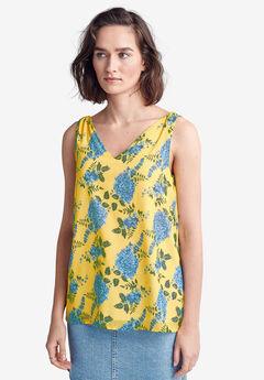 Tie-Shoulder Blouse by ellos®,