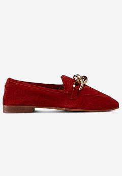 Suede Loafer by ellos®, POPPY RED