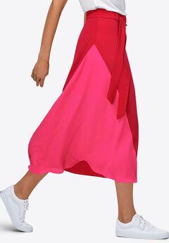 Colorblock Skirt by ellos®,