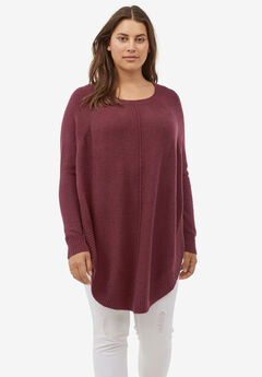 Poncho Sweater by ellos®,