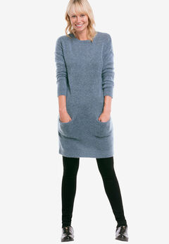 Pullover Pocket Sweater Tunic by ellos®,