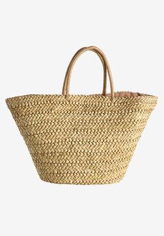 Straw Beach Bag by ellos®,