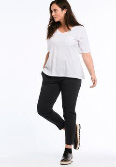 Tab Front Slim Pants by ellos®,