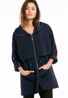 Zip Anorak Rain Jacket by ellos®,