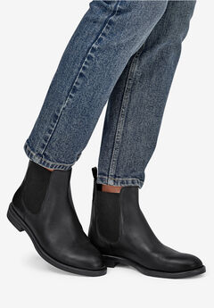 Leather Chelsea Boots by ellos®,