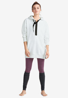 Side-Zip Sweatshirt Tunic by ellos®,