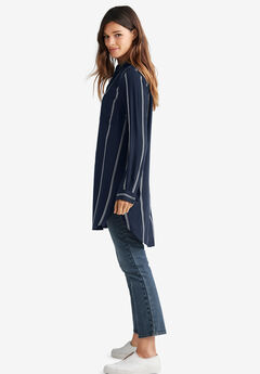 Two-Pocket Shirt Tunic by ellos®,