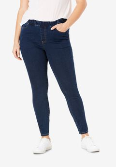 4-Pocket Stretch Jeggings,