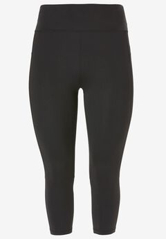 Quick-Dry Crop Leggings by ellos®,