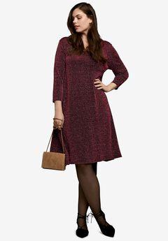 Glitter Knit Dress,