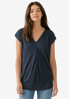 Inverted Pleat Tunic,