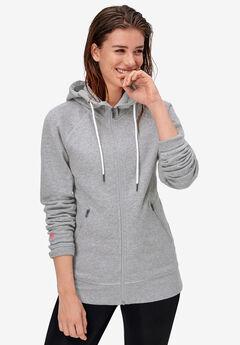 Mesh-Hood Sweatshirt by ellos®,