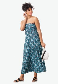 Strapless Beach Dress Cover Up by ellos®,