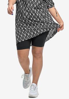 Stretch Knit Bike Shorts by ellos®,