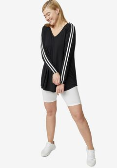 Side-Stripe Tunic by ellos®,