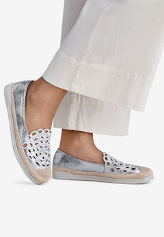Cut-Out Slip-On Flats by ellos®,