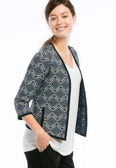 Open Jacquard Jacket by ellos®,