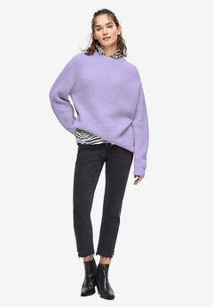 Chunky Knit Pullover Sweater by ellos®,