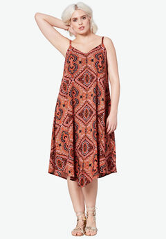 Bali Point Hem Dress,