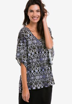 Belted Caftan Tunic by ellos®,