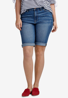 Denim Bermuda Shorts by ellos®,