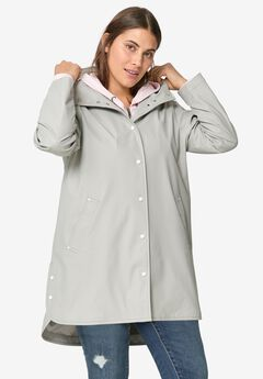 Snap-Front Raincoat by ellos®,
