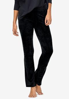 Velour Bootcut Lounge Pants by ellos®,