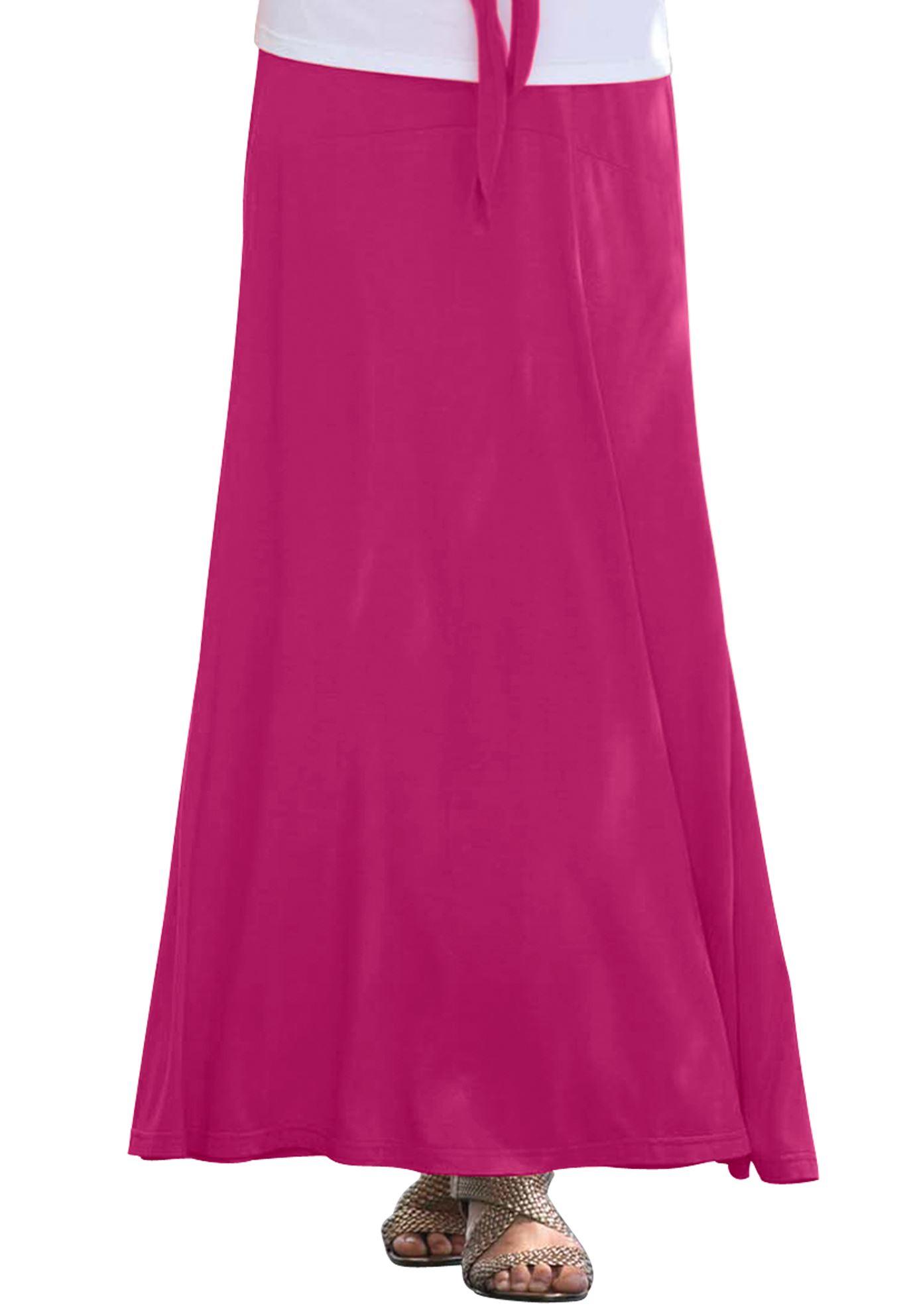 cfcdcf348ee Jessica London Plus Size Tee Shirt Maxi Dress