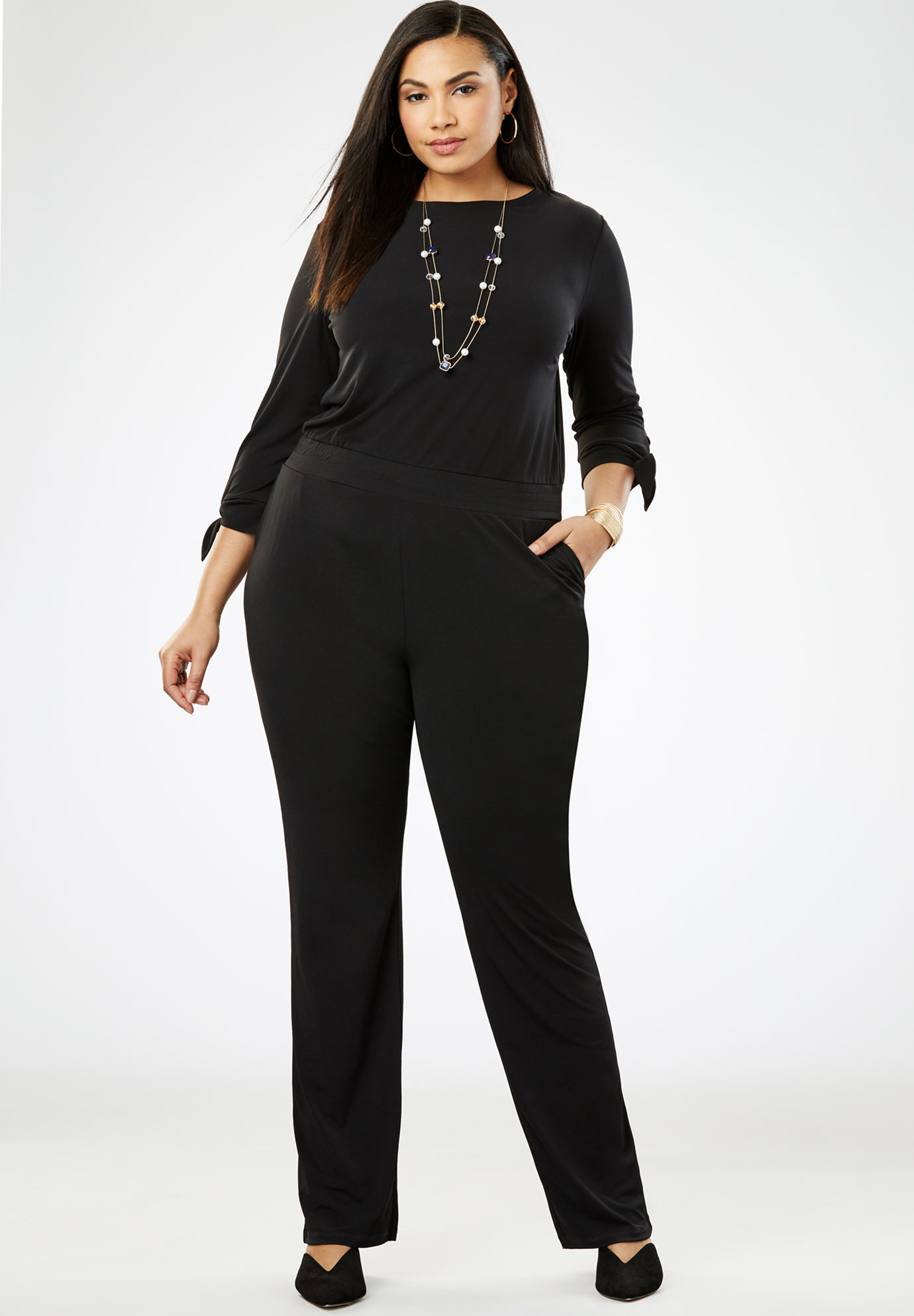 Travel Knit Jumpsuit,