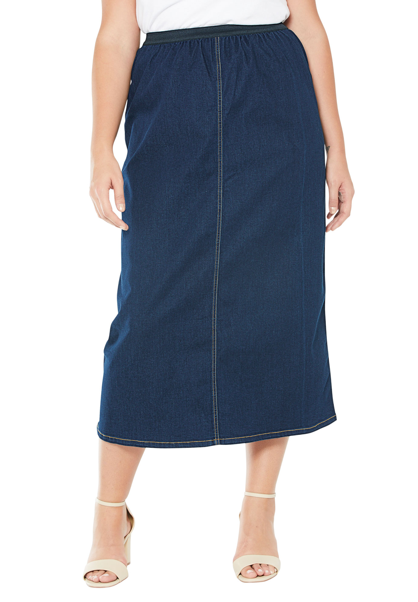 bea633fcb2376 A-Line Jegging Skirt