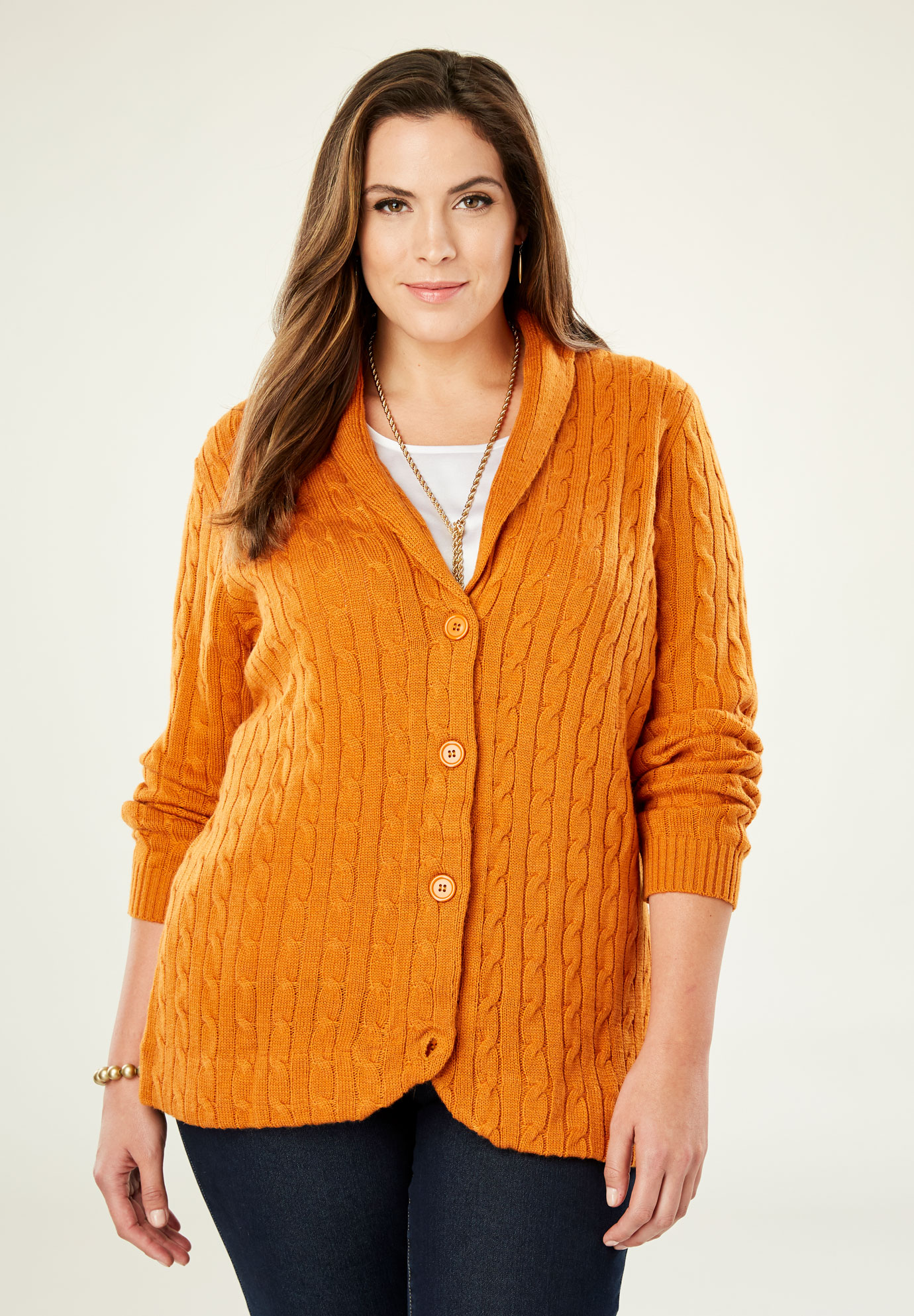 f2427f122ca Cable Blazer Sweater