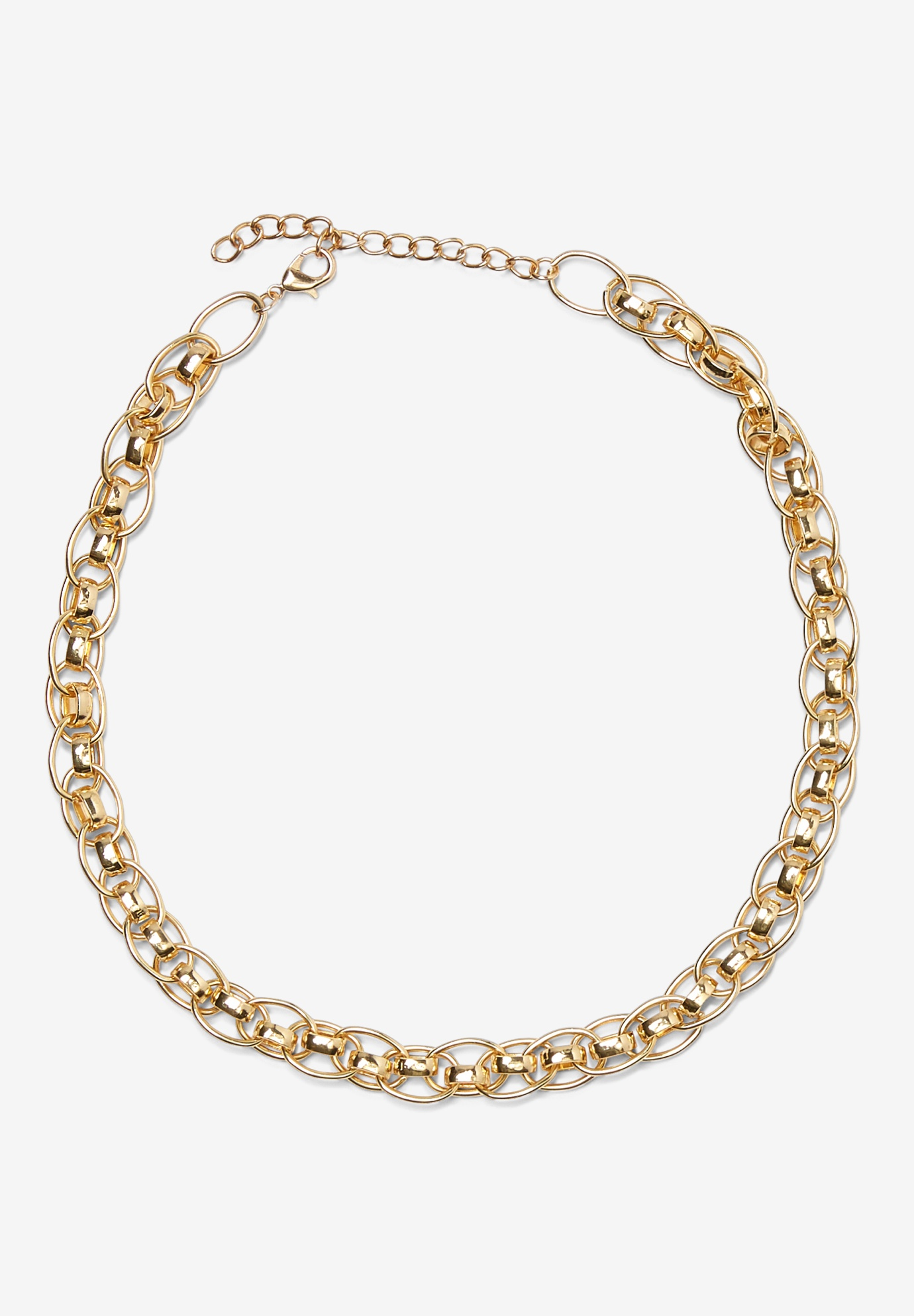Chain Link Necklace, GOLD