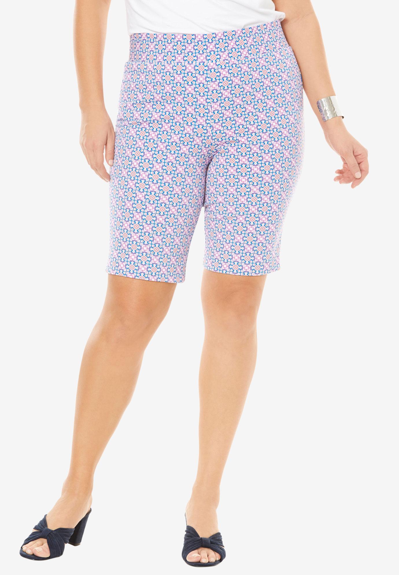 bedd38cf86d Tummy Control Twill Shorts
