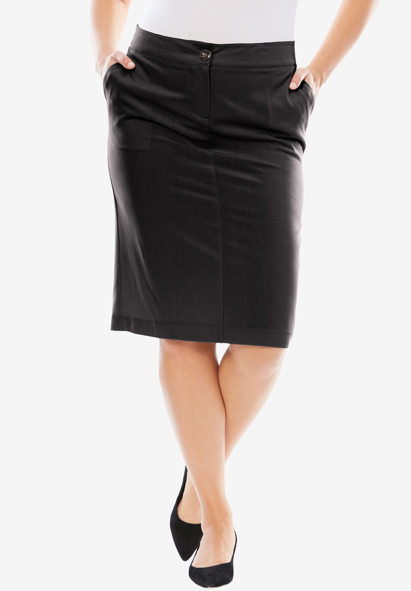 Bi-Stretch Short Skirt,