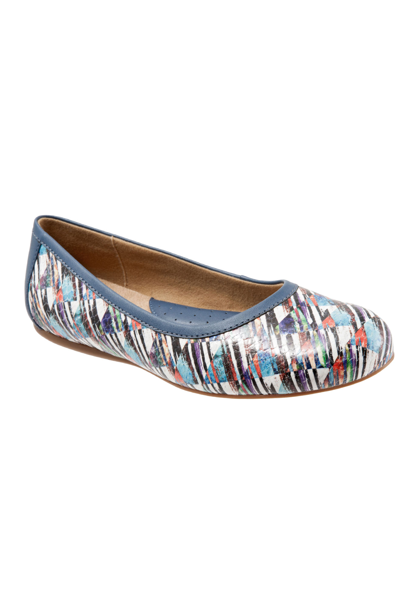 Napa Leather Ballet Flat by SoftWalk®,