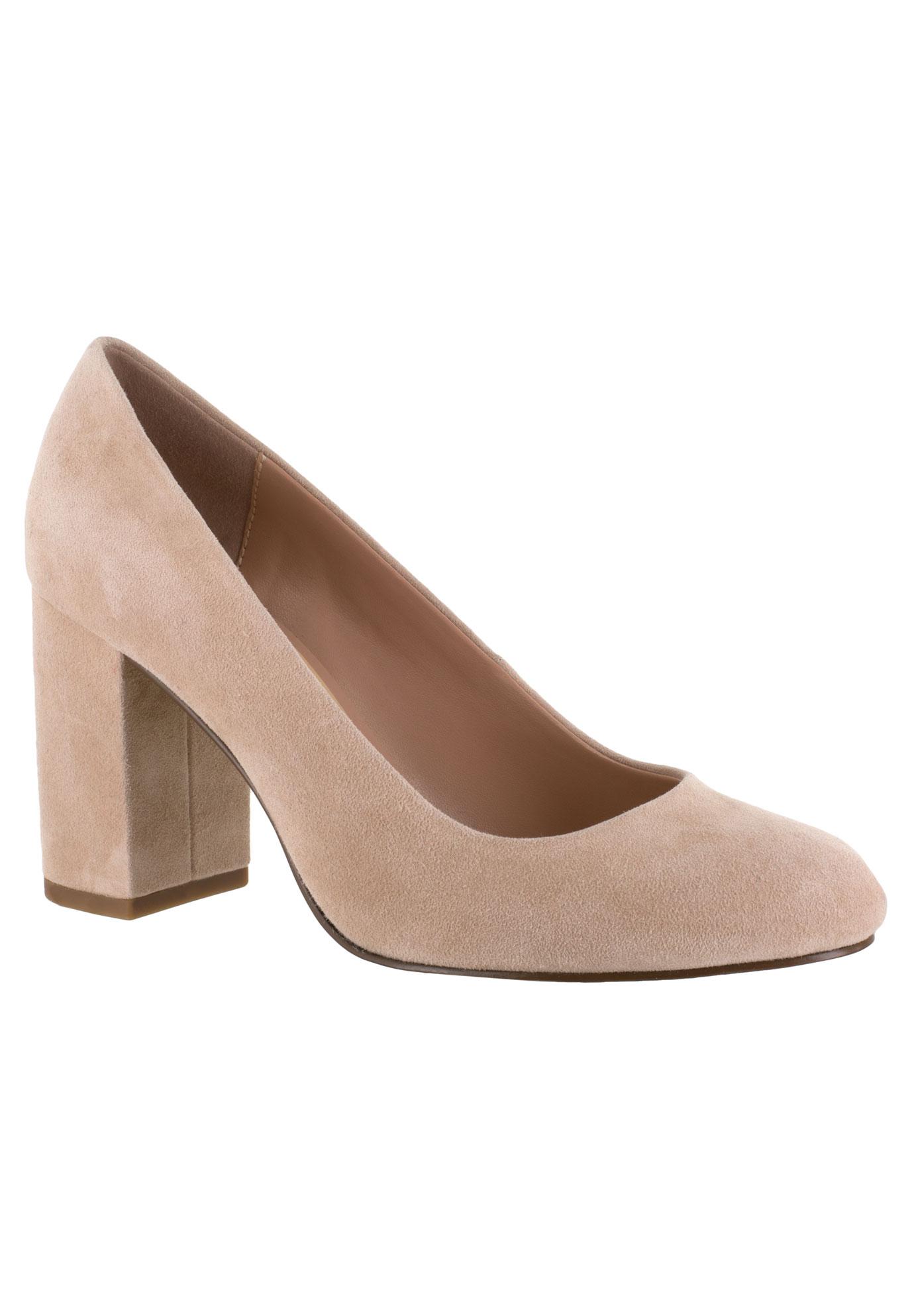 be35b635b9 Nara Leather Pump by Bella Vita® | Plus Size Dress Shoes | Jessica ...