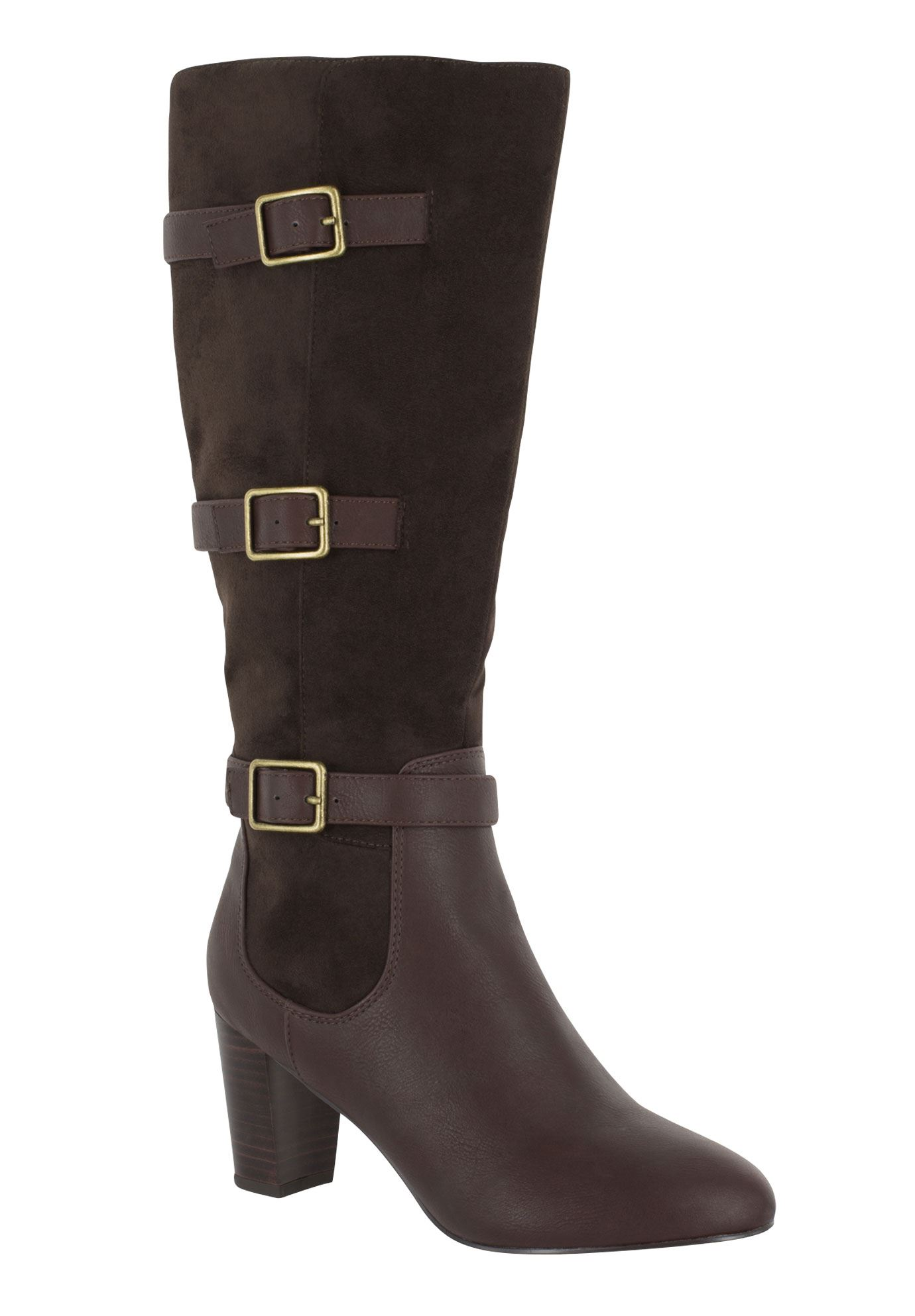 Talina II Plus Wide Calf Boots by Bella Vita®,