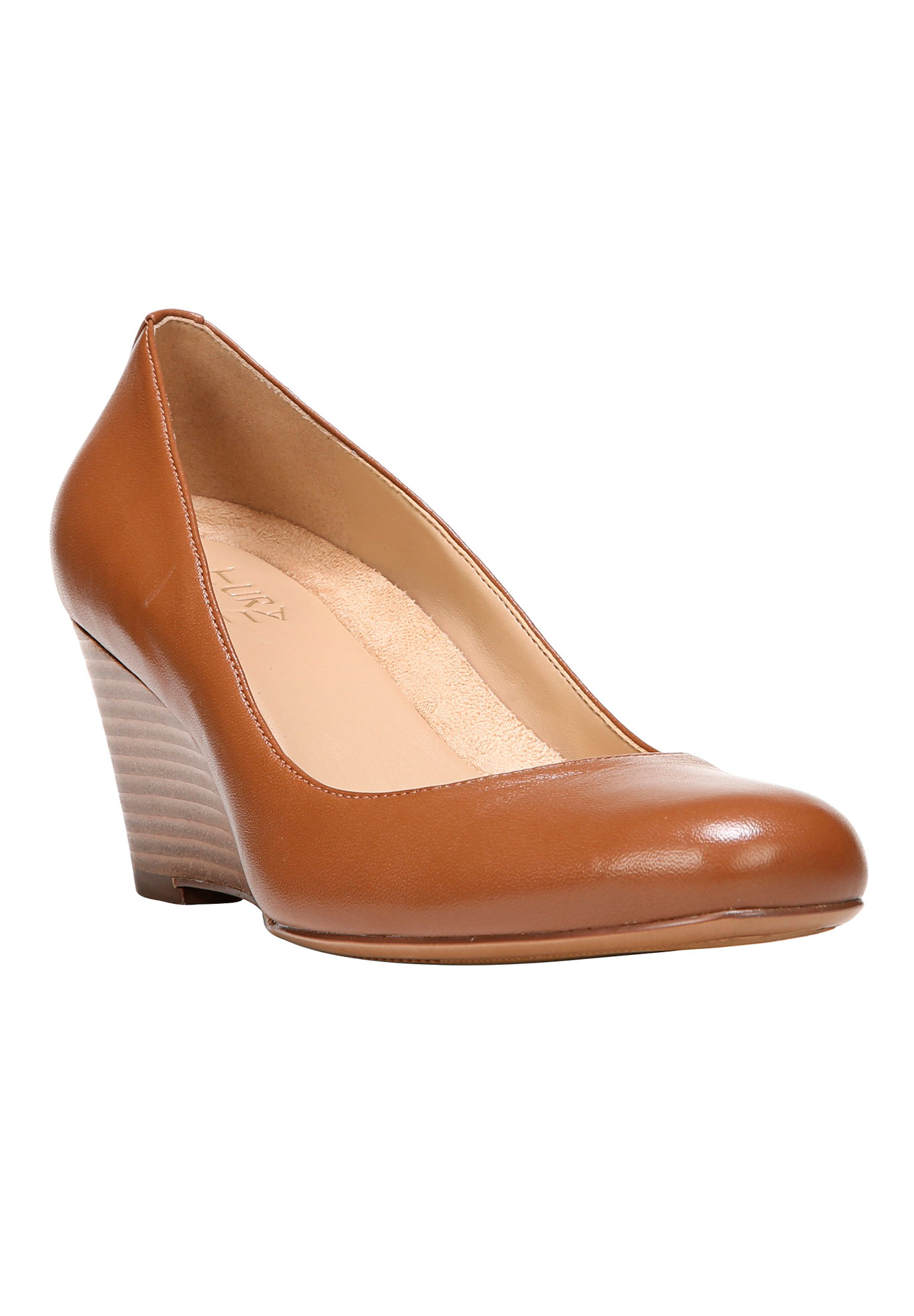 Emily Wedges by Naturalizer®, SADDLE TAN