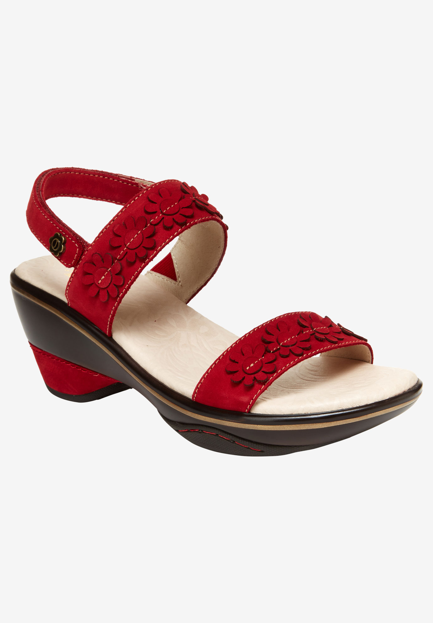 Daisy Wedge Sandal by Jambu®,