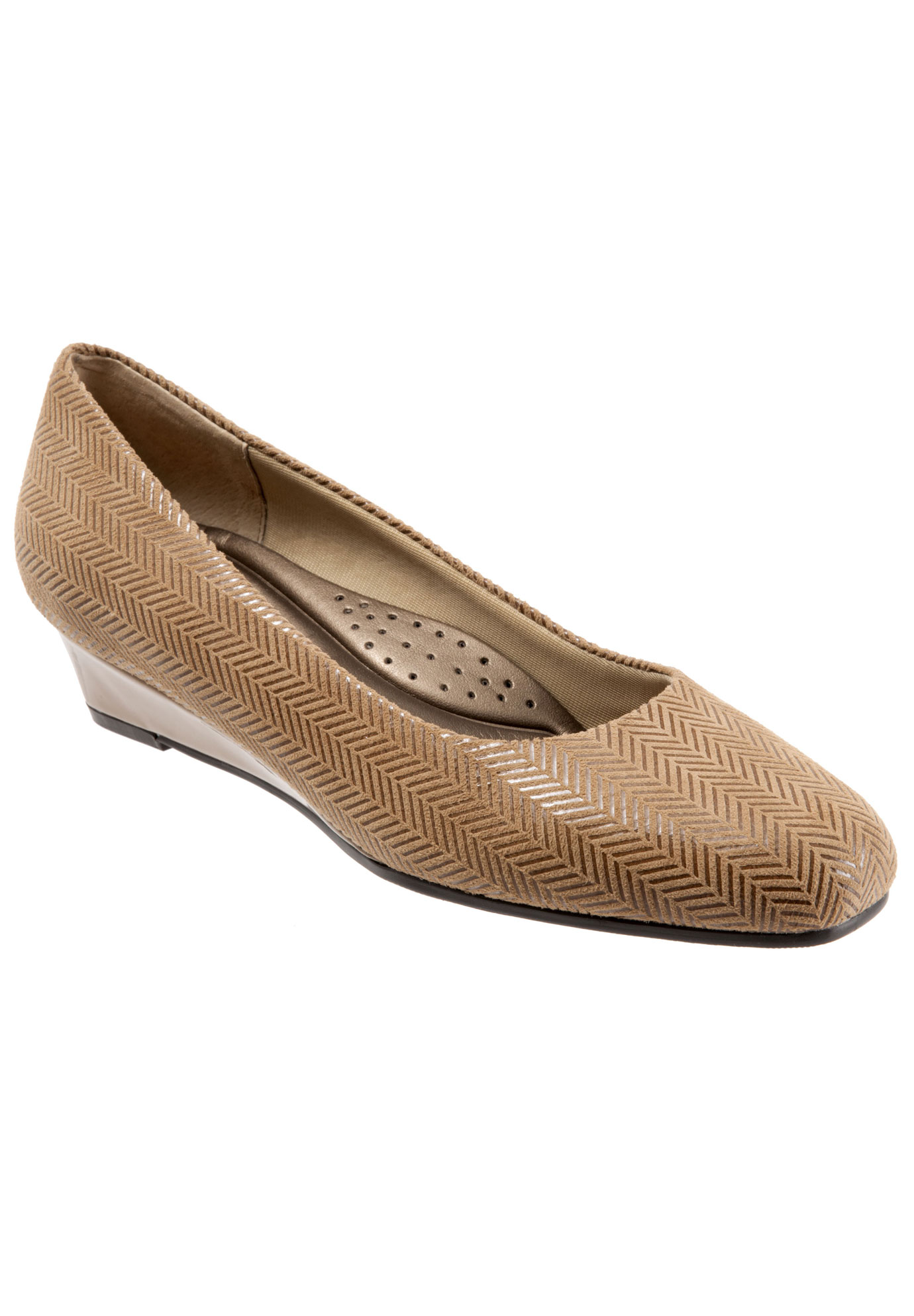 Lauren Leather Wedge by Trotters®,