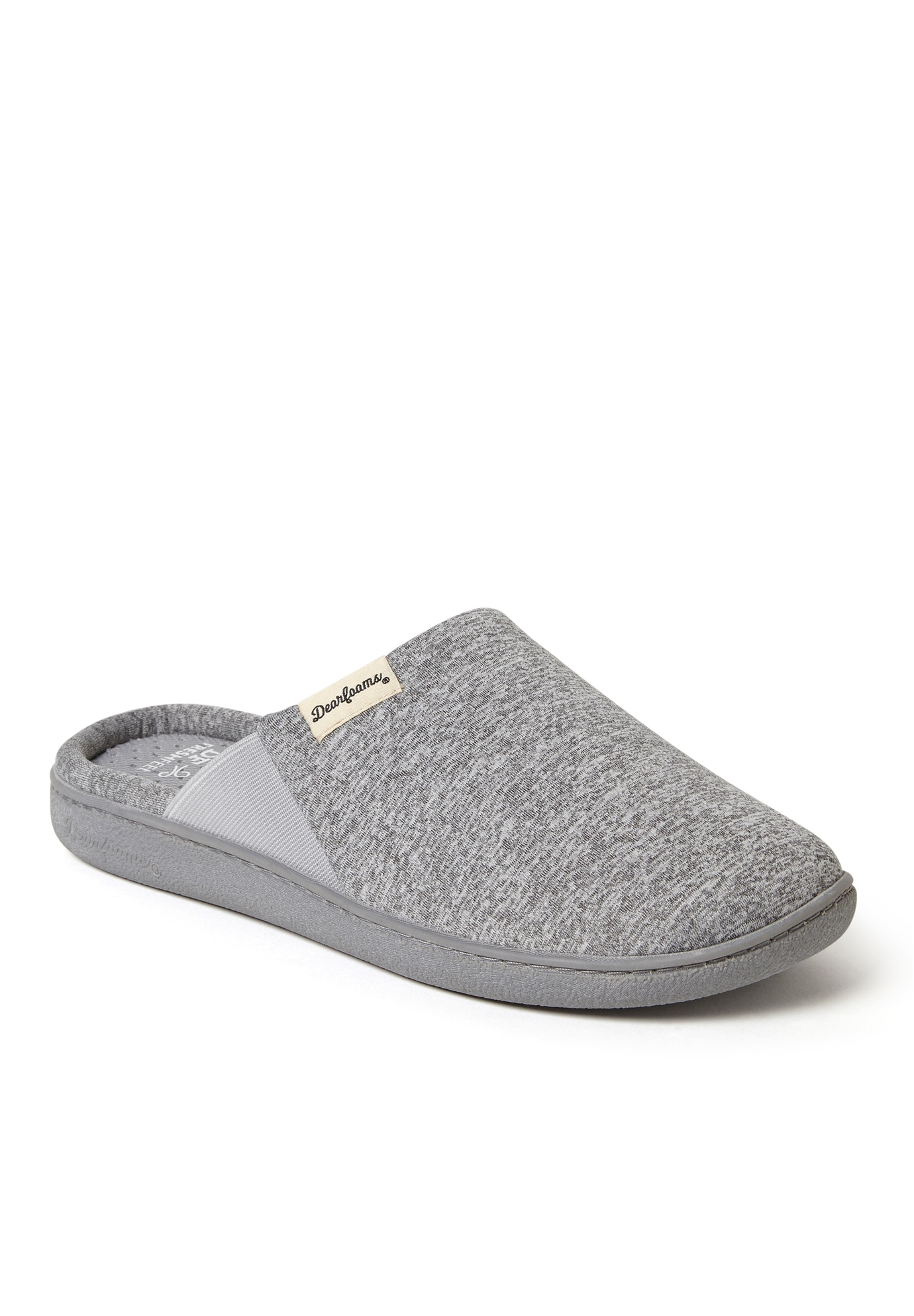 Dearfoam Stephanie Knit Closed Toe Scuff,