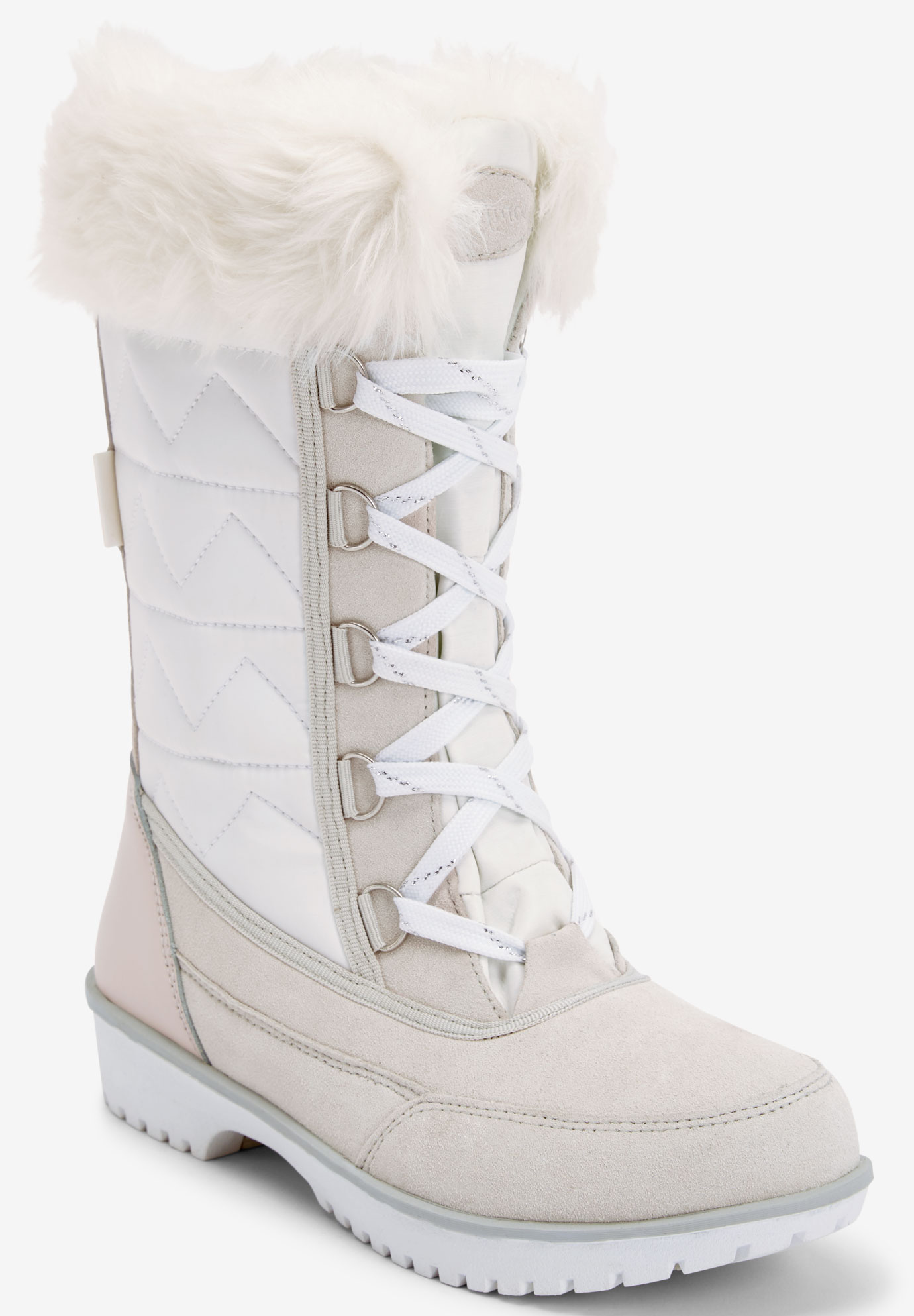 cad005e24afaa The Eileen Waterproof Wide Calf Boot by Comfortview®  Plus Size ...