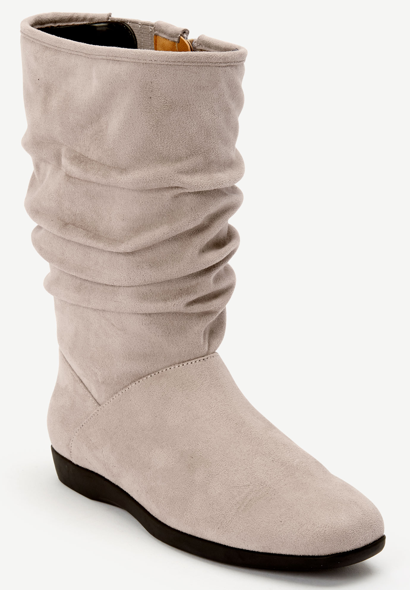 The Aneela Wide Calf Boot by Comfortview®,