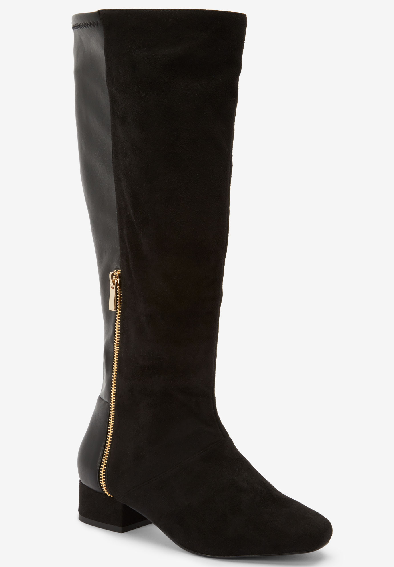 The Ivana Wide Calf Boot by Comfortview®,