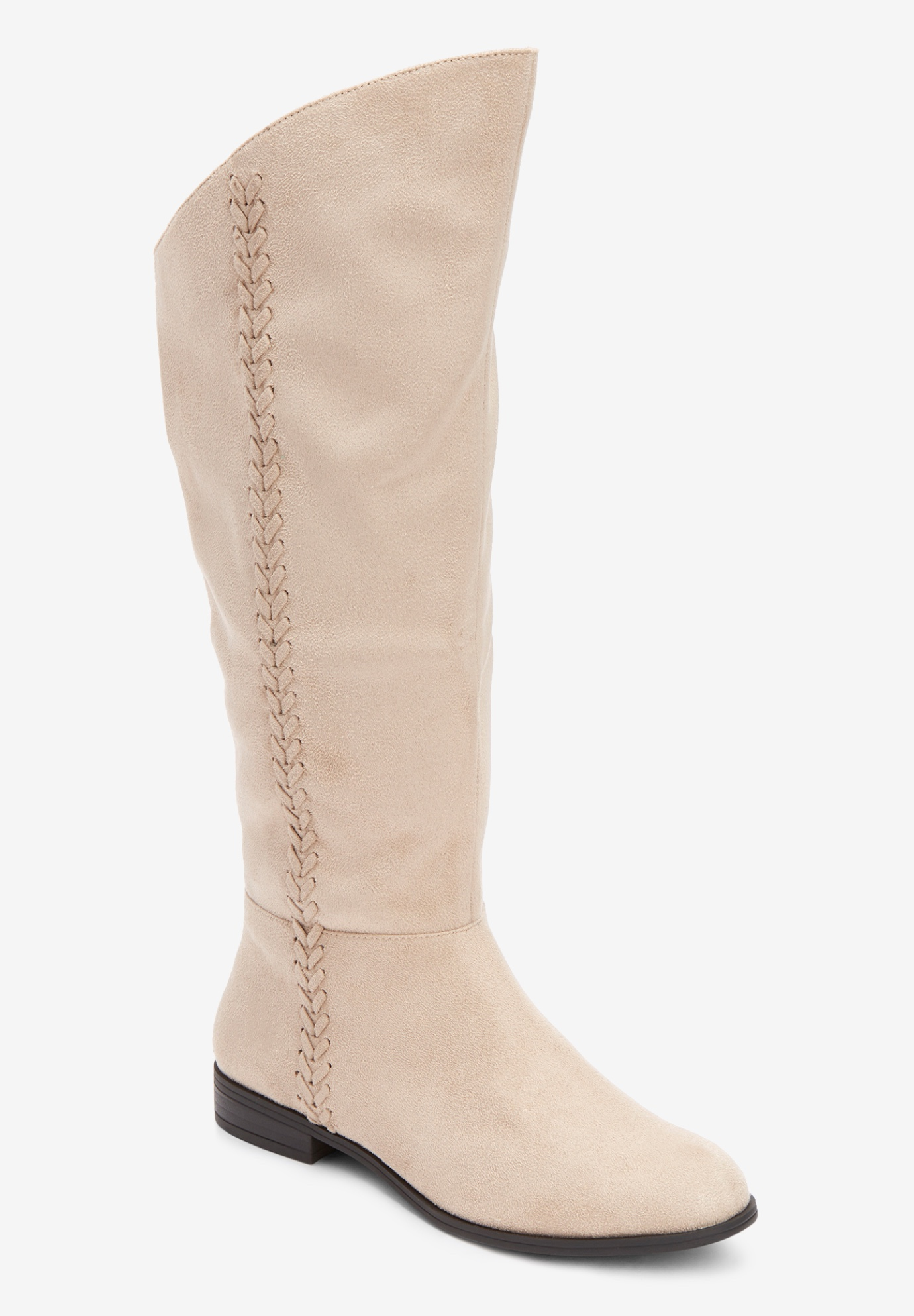 The Tinley Wide Calf Boot By Comfortview®,