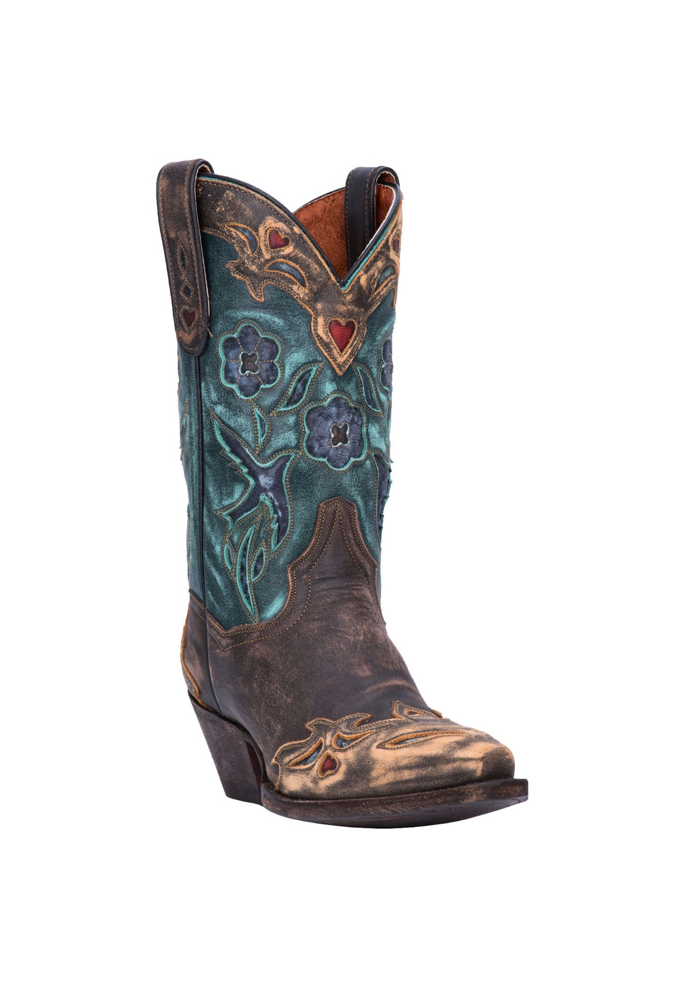 Vintage Bluebird Boot by Dan Post,