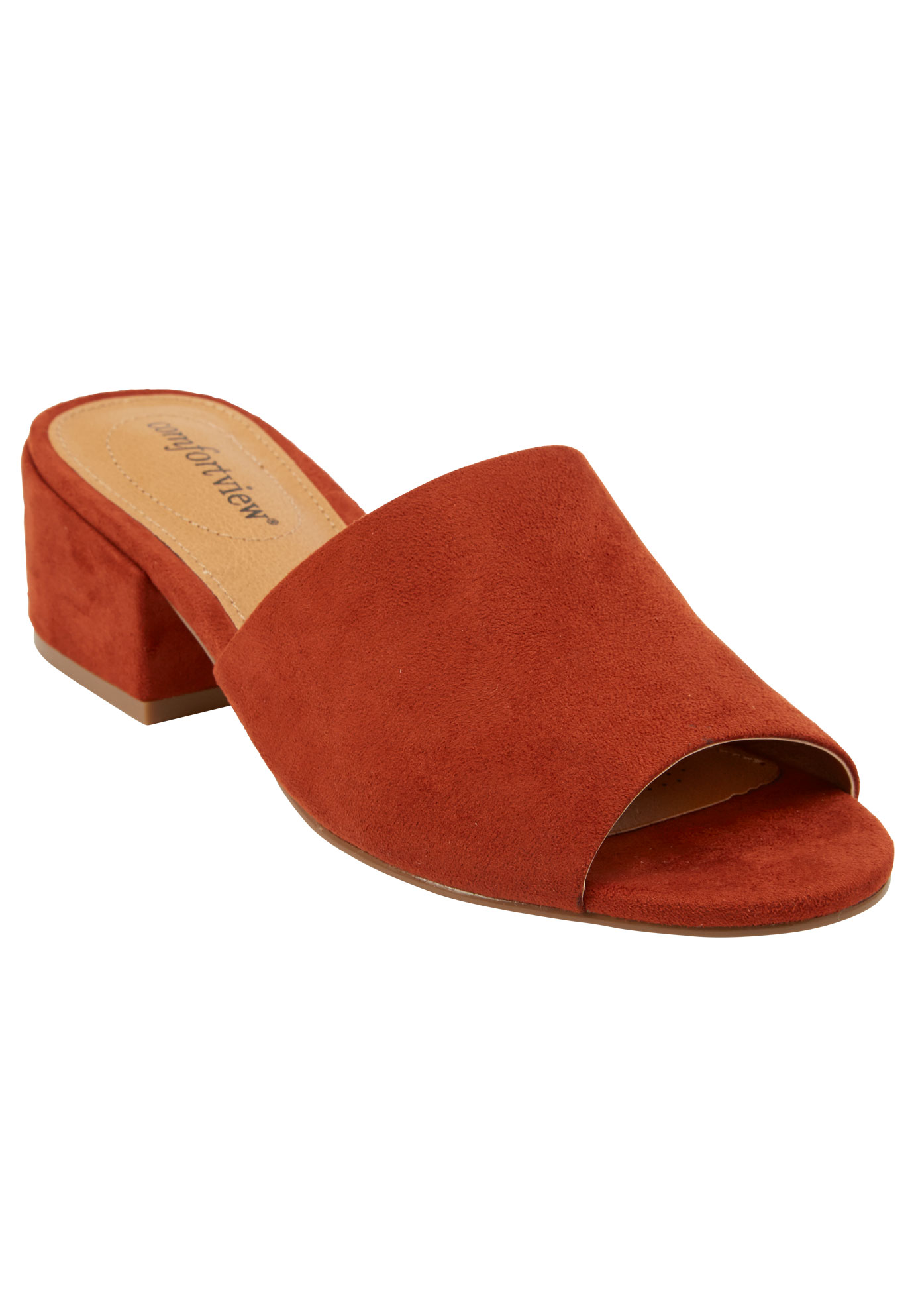 Basha Mules by Comfortview®,
