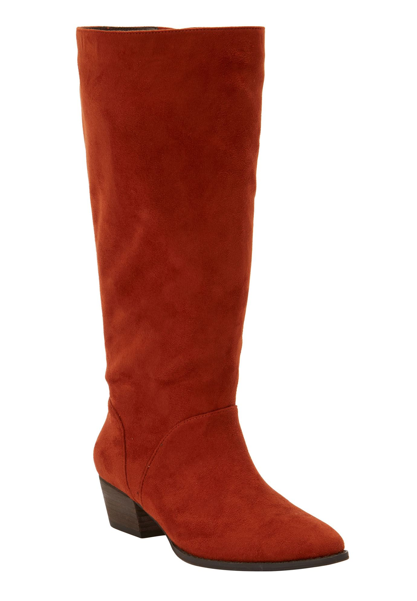 cba39a9f73e The Felicity Wide Calf Boot by Comfortview®