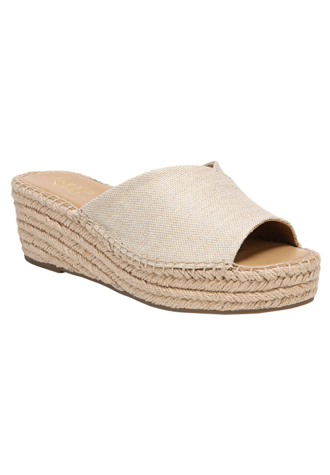 Pinot Espadrille Wedge Sandal by Franco Sarto,