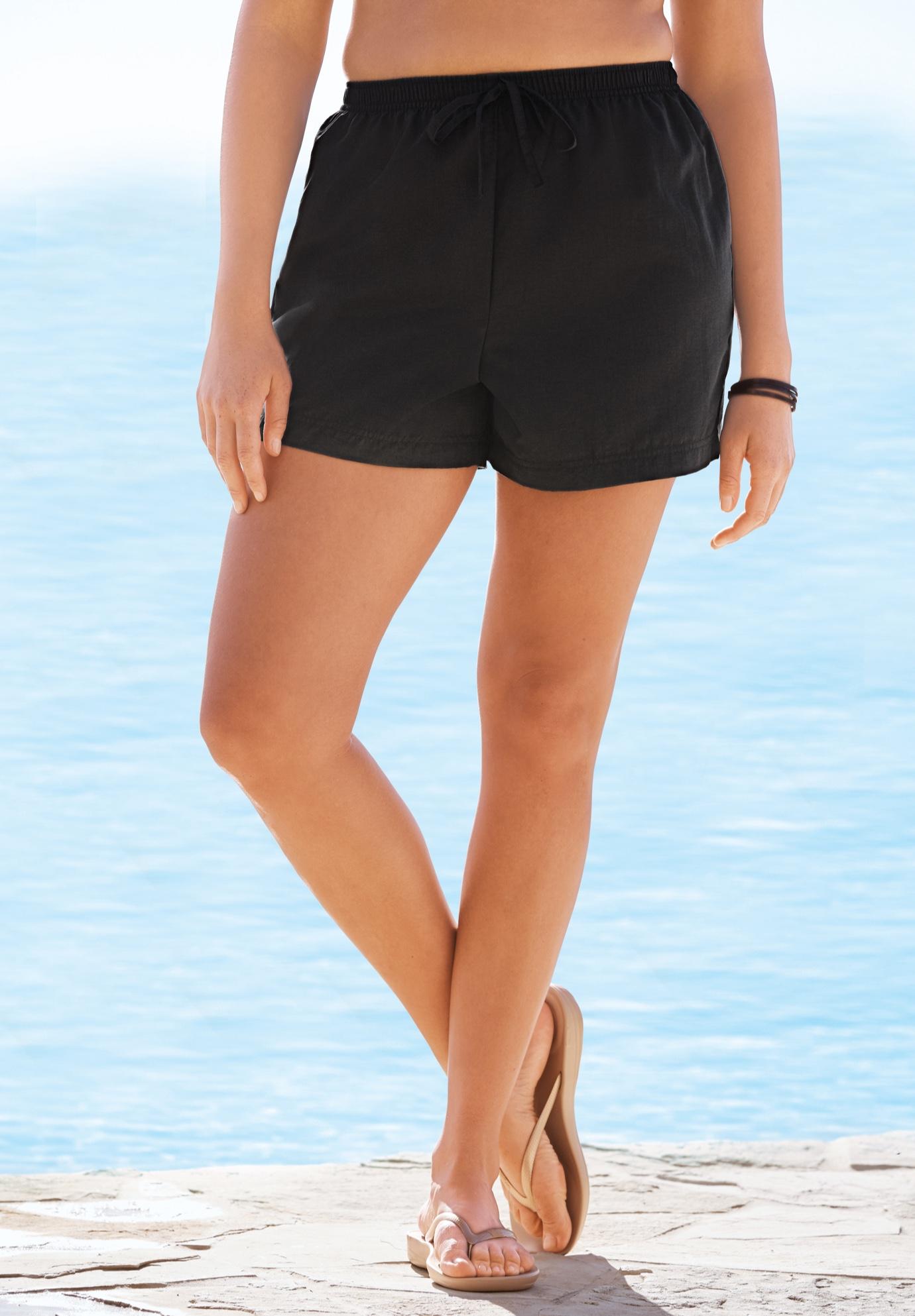 120141f641 Taslon® Swim Shorts| Plus Size Swim Bottoms | Jessica London